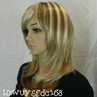 Sentetik Saç Peruk Sentetik Seksi Arriv Yeni Uzun Moda Peruk