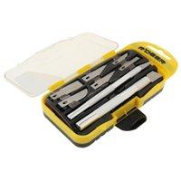 R Deer Rt-M108 8 in 1 graver coltello Set multifunzione strumento strumento per la coltello da caccia hobby kit
