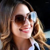 선글라스 프레임 Myopia 완성 된 여성은 여성을위한 디옵터 편광 태양 안경 FML1