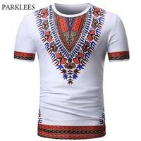 Africana Dashiki Camiseta Homens 2020 Verão Marca de Manga Curta Camiseta Homme Casual Slim Fit O Pescoço Dashiki Imprimir Masculino T-shirts1