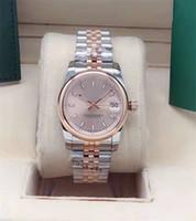 A nova senhora 31mm relógio automático mecânico com luz externa anel de aço inoxidável relógio de relógio de relógio de relógio de relógio de relógio