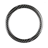Крышки рулевого колеса из углеродного волокна для Mini Cooper R55 R56 R60 2007-2013 REM TRIM1