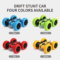 3Cross- border for charging double stunt car 360 rotary rolli...