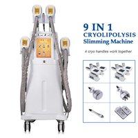 Cryolipolysis Lipo Laser Laser Machine Blocco Blocco Riduzione del grasso 650nm Lipolaser Cood Contouring Cryo Lipolysis Machine di crioterapia