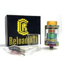 Ricarica RTA 2ml e sigaretta Ni80 Wire Walls Vape 24mm Serbatoio ricostruibile per vaporizzatore 510 filettatura mod