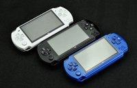 PSP Oyun Deposu Klasik Oyunlar TV Çıkışı Taşınabilir Video Oyunu Player için PMP X6 El Oyun Konsolu Ekran 4.3inch