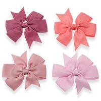 40 Colori Hair Bows Pin per bambini per bambini Ragazze Accessori per bambini Abbigliamento per bambini Capelli Ragazza Capelli Abbinamenti Bella con clip flower clip 326 k2