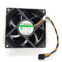 Para Sunon 9032 PSD1209PLV2-A DC 12 V 90 * 90 * 32 MM Ventilador de resfriamento de servidores de 4 linhas de 4 linhas
