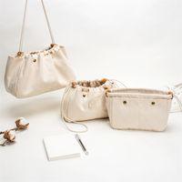 Le paquet de coton coton doublure de stockage Ourling Organisateur cosmétique en sac LJ201118
