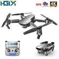 HGIYI SG907 SG901 GPS بدون طيار 1080P 4K HD المزدوج الكاميرا الضوئية تدفق wifi fpv المهنية rc بدون طيار كوادكوبتر هليكوبتر LJ200827