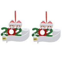 Christmas Ornament Personalized Survivor 2pc Family 2 3 4 5 ...