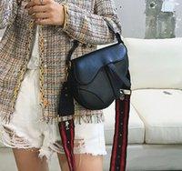 Moda Designer Sella Lady Borse con lettere Saddles Borsa di alta qualità Genuine Della Donna ObliquasellaBorse a tracolla in pelle
