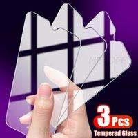 3PCS Temperlenmiş cam için Xiaomi redmi Not 8 9 8T 9S Pro En Ekran Koruyucu redmi 9 8 9A 9C 8A K30 10X Pro K30i Koruyucu Film