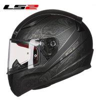 LS2 FF353 Casque de moto Rapid Full Full Face Capacete LS2 Casque Homme Femme Street Racing Casque Moto Vitesse Casco Moto ECE1