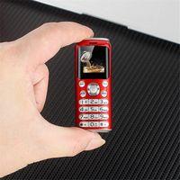 "Uncoked Süper Mini K8 Push Button Cep Telefonu Çift SIM Bluetooth Kamera Dialer 1.0 ""Eller Telefon MP3 Küçük Çin Ucuz Cep Telefonu"