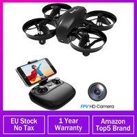 Drohnen potenssische Mini-Drohne mit Kamera Wifi FPV-Höhenhälften Kopfloser Modus 2.4G 6AXIS RC dron Quadcopter Spielzeug für Kinder 2 Batterien
