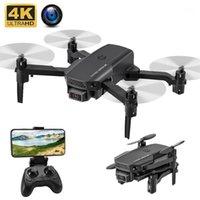 드론 KF611 미니 카메라 HD 와이드 앵글 4K FPV 무인 항공기 높이 듀얼 쿼드 코터 높이 유지 WiFi Dron Toy1