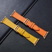 Lederband IWATCH-Serie Luxus Leder Apfelwatch Ersatz Watch Strap 6 5 4 3 Uhrenarmband kaufen Eine kostenlose erhalten