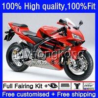 Injeção para Honda CBR 600F5 600 CC CBR600 RR 2003 2004 49HM.75 CBR600F5 CBR600RR 03 04 CBR 600RR 600 RR F5 03 04 OEM da vermelho Fairing quente