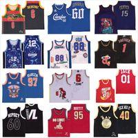 NCAA rétro vintage classique de basketball jerseys Don Georgetown Scott 01 Jack Caroline du Nord Le quartier Harlem Boutit Autre Nipsey Hussle