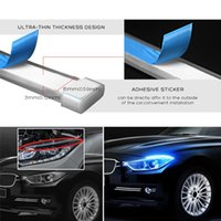 LED DRL 주간 실행 조명 신호 DRL LED 스트립 자동차 라이트 액세서리 브레이크 사이드 라이트 헤드 라이트 자동