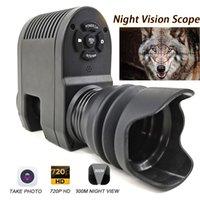 Интегрированный дизайн Megaorei3 ночного видения Область применения для Винтовка Оптический прицел телескопа Охота камера NV007 может принять фото и видео