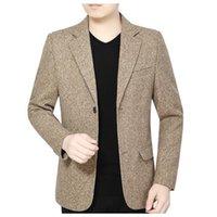 2021 sıcak moda erkek takım elbise, yüksek kaliteli rahat erkek blazer yeni büyük boy Wanz