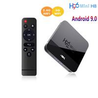 Android Box H96 Mini H8 TV Box Android 9.0 2GB 16GB RK3228 2.4G / 5G Wifi BT4.0 4K Google Play Netflix YouTube Media Player
