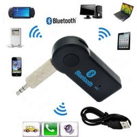 Caractéristique Bluetooth Bluetooth Music Receiver Universal 3.5mm Streaming A2DP Sans fil Auto Aux Adapter Adapter Connector Mic MP3