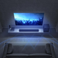 TV Soundbar Speaker Subwoofer Cinema 100W tactile Home Cinéma TV 2.1Channel 5 Son optique Aux fibre optique