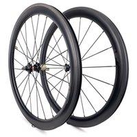700C 중국어 탄소 휠셋 50mm 깊이 23 / 25 / 27mm 폭 도로 자전거 wheelset 자전거 바퀴 탄소 자전거 바이크 wheelset 도로 자전거 바퀴