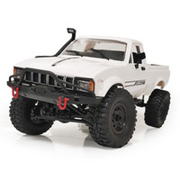 C-24 C24-1 1/16 4WD 2.4G Truck Buggy Crawler Off Road DIY RC Car Kit 4WD Toy Without Electric Parts