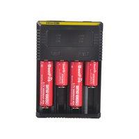 NITECORE I2 I4 Caricabatterie universale Intellicheger per sigaretta E Cigs 18650 14500 16340 26650 Batteria multifunzione