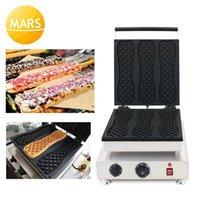 Coréia super grande waffle maker 110V 220v pizza sorvete máquina de waffle ferro padeiro fazendo panela1