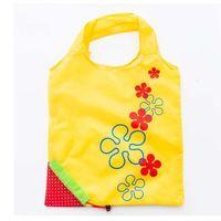 딸기 접이식 쇼핑 가방 (11 개) 색상 홈 스토리지 가방 재사용 식료품 토트 백 접이식 휴대용 쇼핑 편리한 파우치 EEA2088-1