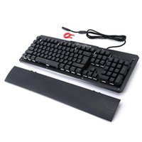 2600 Home Office Wired Computer Keyboard With Hand Rest Comp...