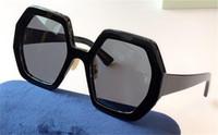 패션 디자인 여성 선글라스 0772S 사각형 프레임 간단한 Avant Garde 스타일 최고 품질 UV400 보호 아이웨어