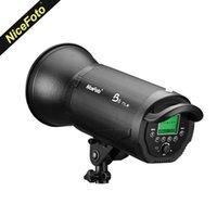 Flashes NICEFOTO B6 600WSL HSS 1 / 20000S 2.4G Bateria sem fio Bateria flash com TX-C02 para câmeras DSLR