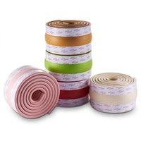 Baby Safety Corner Guards Table Protector Edge Safety Self Adhesive Products 2m Anti Collision Adhesive Strip For Kids NBR Soft Material