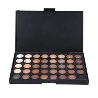 40 Colors Eye Makeup Nude Matte Shimmer Eyeshadow Pallete Glitter Earth Eye Shadow Power Set Cosmetic Makeup Brush Set TSLM2