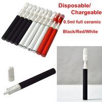 Новый TH205 Одноразовый Vape Pen 0.5 мл Тележки 350 мАч Батарея Керамическая катушка распылитель Одноразовый Vape Pods Горячие продажи