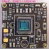 """Kameralar Effio-e Chipset 1/3 """"Sony Süper II CCD ICX811 + CXD4140 CCTV Kamera PCB Kurulu Modülü vardı (İsteğe bağlı Parçalar) 1"""