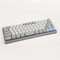 Tastaturen DIY Mechkanische Tastaturteile CNC Galvanisierungsanode Aluminiumschale Positionierplatte QMK PCB TPYE-C Kaih Swap Board1