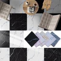 Piso de mármore adesivo de parede estéreo 3d adesivo de cerâmica auto-adesivo Renovação à prova d 'água desgaste resistente à casa decoração de casa remendo T200111