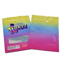 personalizado folha de alumínio zip lock mylar saco de prata Conveniente Pure Calor Seal comestíveis biscoitos Runtz cheiro prova de criança levantar-se sacos de plástico