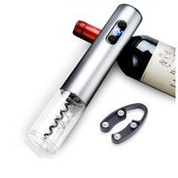 Wine Bottle elétrica automática Opener portátil Household Operado a bateria elétrica Corkscrew Kitchen Bar Início Acessório VT1729