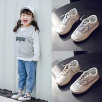أحذية الأطفال الكورية للأطفال 2021 ربيع الأولاد والفتيات أحذية النمر مراقب الطلاب الأبيض