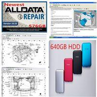 640기가바이트 하드 디스크 USB3.0 빠른 배송 모든 데이터를 고품질의 하드 디스크 드라이브 ALLDATA 2020 뜨거운 판매 V10.53 ALLDATA 소프트웨어