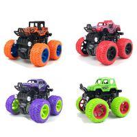 Mini Aztici Off-Road Araç Pulback Çocuk Oyuncak Araba Plastik Sürtünme Dublör Araba Juguetes Carro Çocuk Oyuncakları Erkekler için