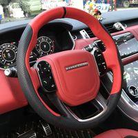 Range Rover Sport исполнительное открытие-4 Aurora руки сшитых кожаный чехол замши руля ручка